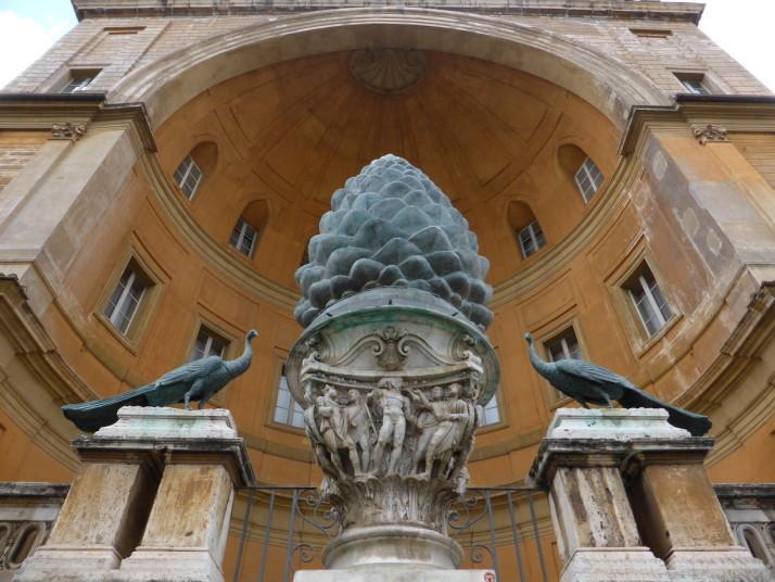 The Fontana della Pigna, Vatican Museums, Italy