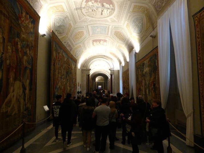 Galleria degli Arazzi, Vatican Museums, Italy