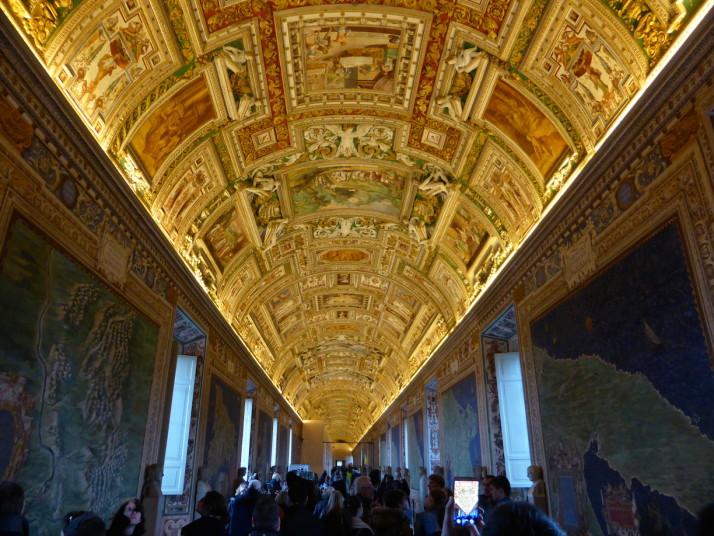 Galleria della Carte Geografiche, Vatican Museums, Italy