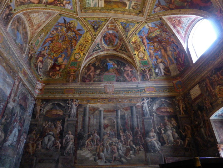 Baptism of Constantine, Room of Constantine, Vatican Museums, Italy