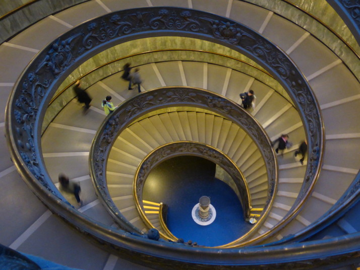 Bramante Staircase, Vatican Museums, Italy