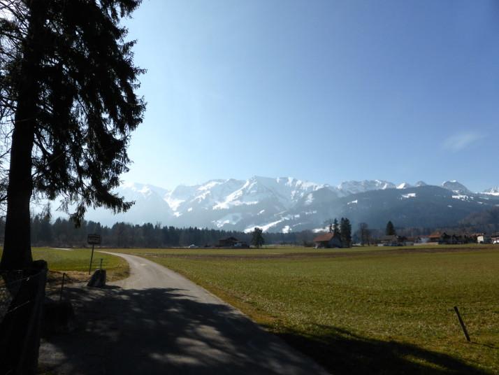 Hiking in Wattenwill, Switzerland