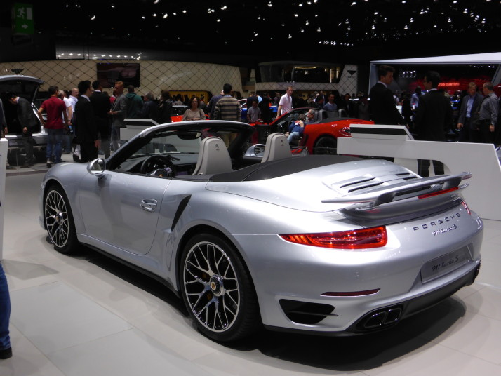 Porsche 911 Turbo S, Geneva Motor Show 2015, Switzerland
