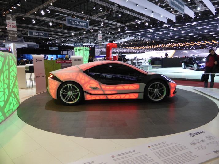 Edag Light Cocoon concept, Geneva Motor Show 2015, Switzerland