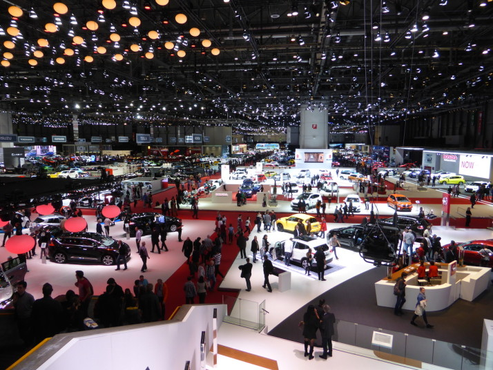 85th International Motor Show, Geneva, Switzerland