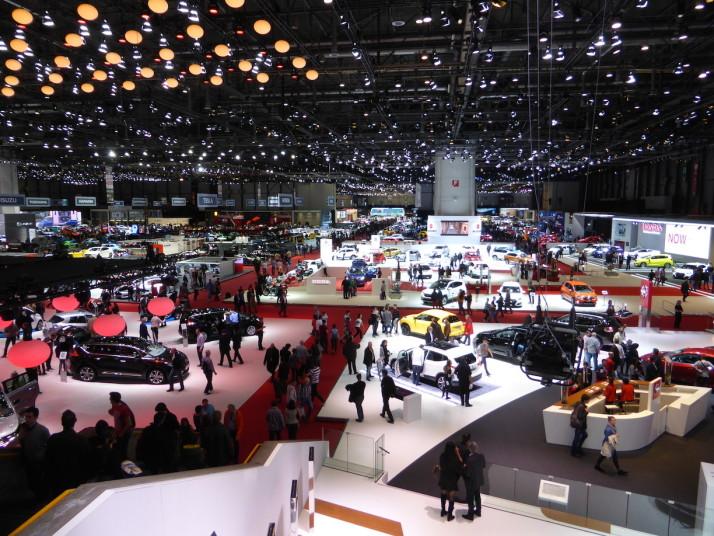 85th International Motor Show, Geneva, Switzerland