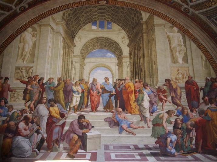 Stanze di Raffaello, Vatican Museums, Italy