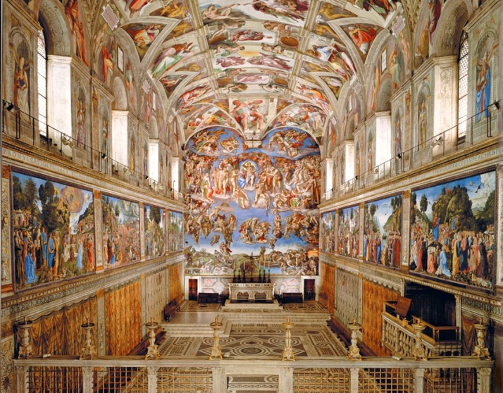 The Sistine Chapel, Vatican Museums, Italy