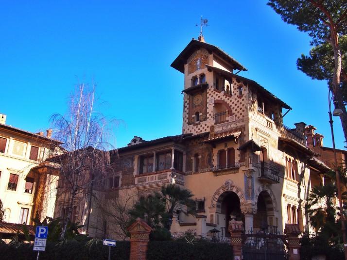 Fairy Cottage, Quartiere Coppedè