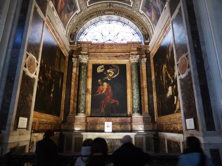Contarelli Chapel, Church of San Luigi dei Francesi
