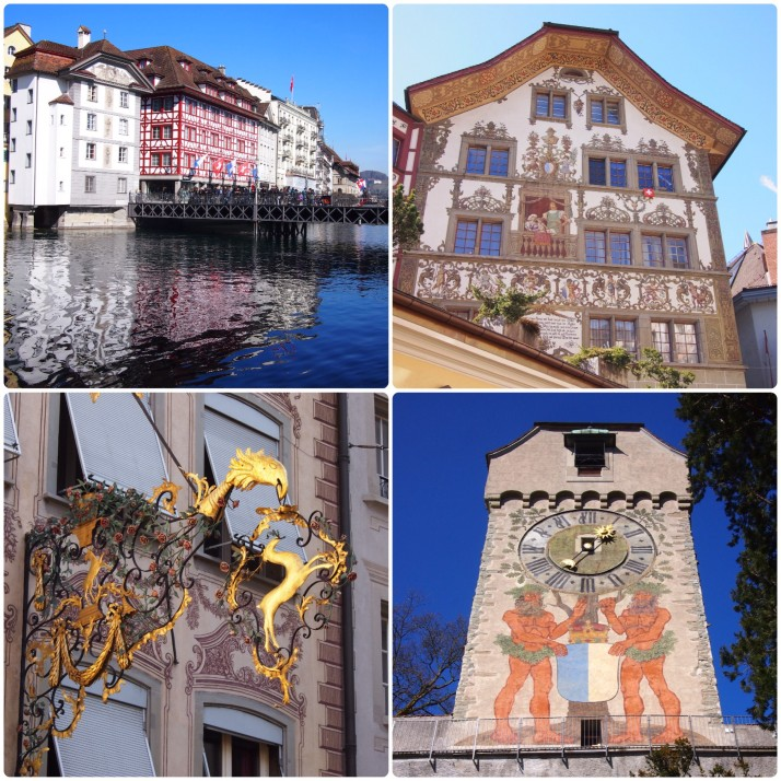 Luzern's historic centre