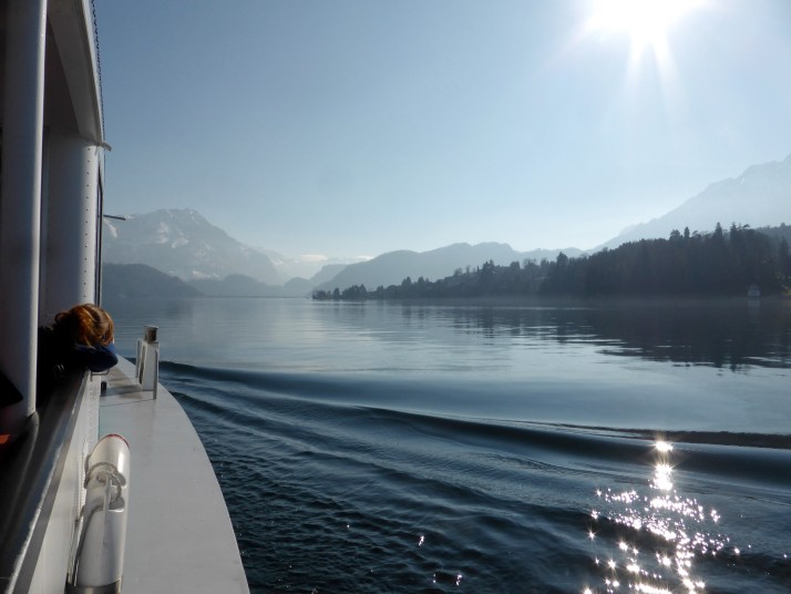 Cruise on Lake Luzern