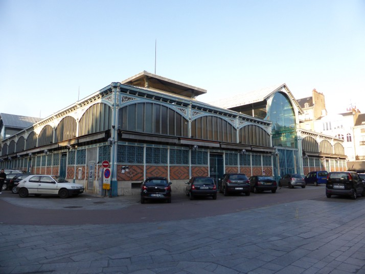 Dijon market building