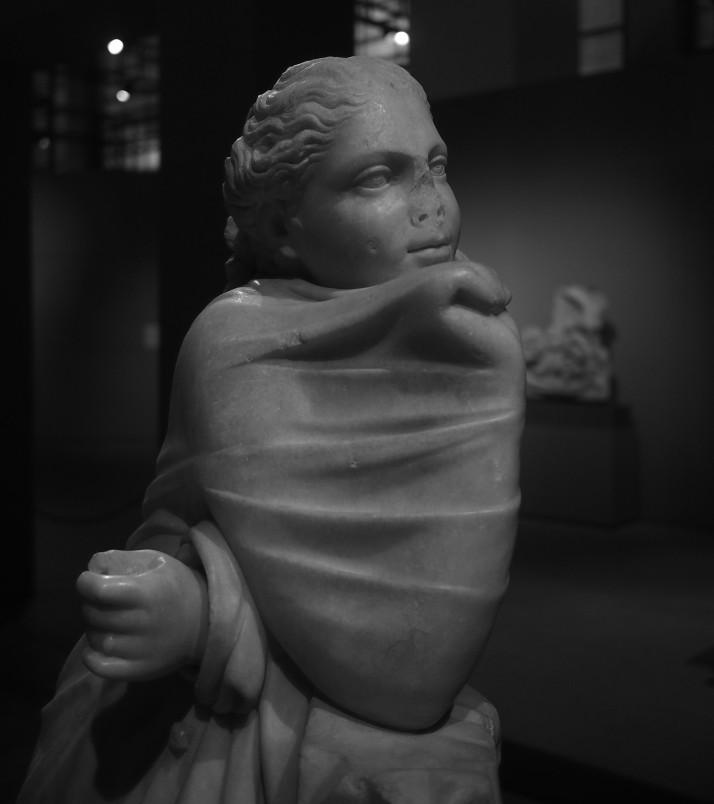 Muse statue, Centrale Montemartini
