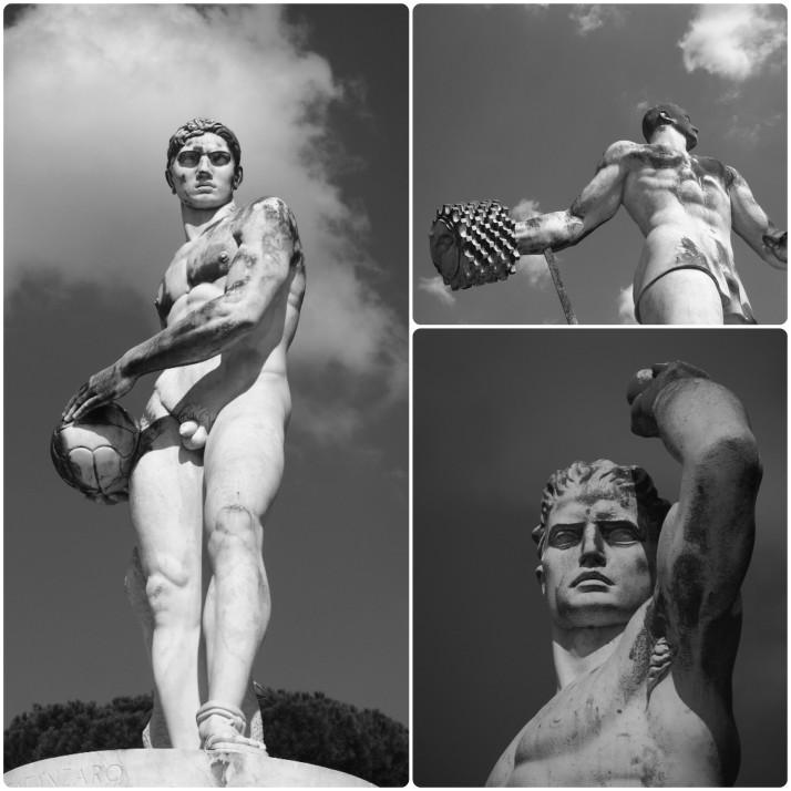 Statues, Stadio dei Marmi