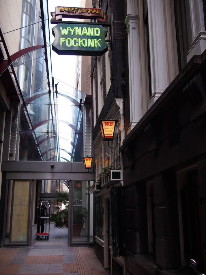 Wynand Fockink, Amsterdam