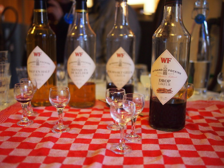 The final round, Jenever tasting, Wynand Fockink, Amsterdam