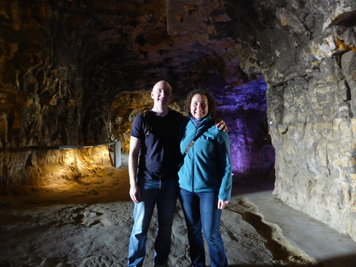 Us in the Casemates Bock, Luxembourg City