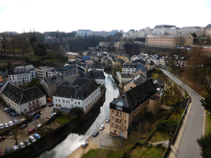 The Grund, Luxembourg