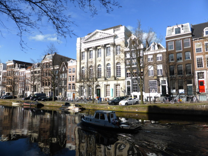 Amsterdam canal, Amsterdam, Netherlands