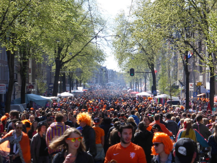 The Dutch know how to have a good time, and everywhere we went people were really enjoying the citywide festival spirit