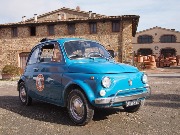 Fernando, our Fiat 500
