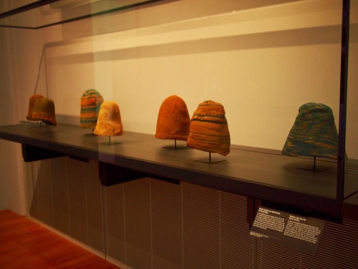 Dutch whalers' woollen caps