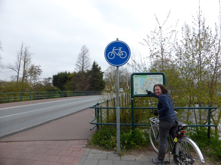 Nodal point on the Dutch cycle network