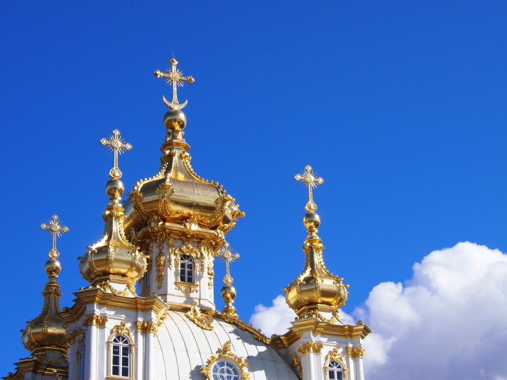 Domes at Peterhof