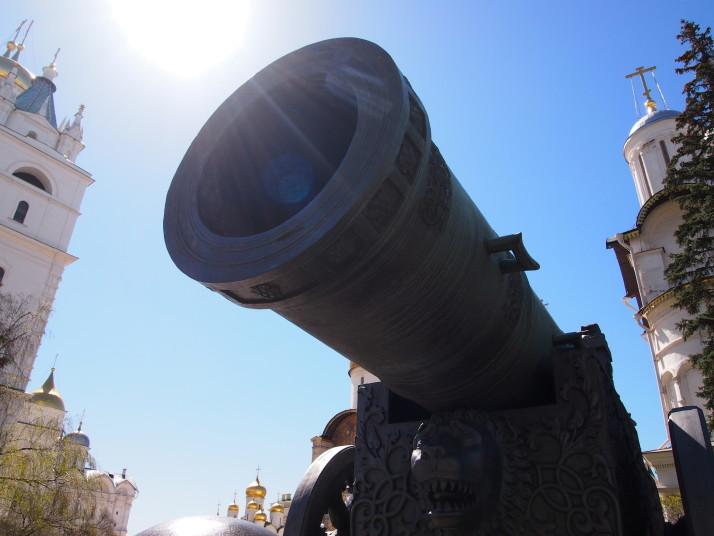 Tsar Cannon in the Kremlin