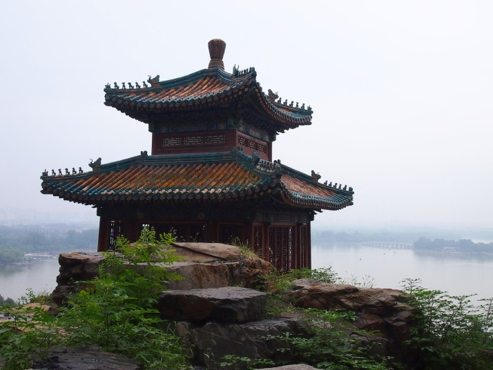 Temple building at Summer Palace