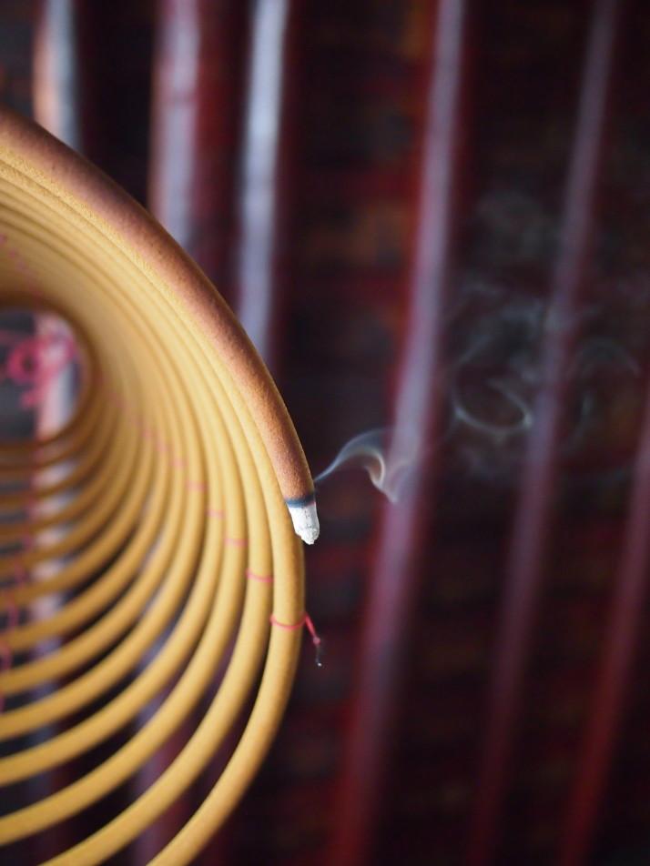 Incense coil