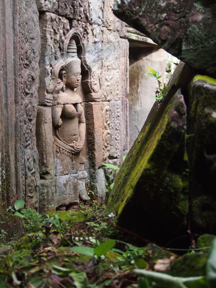 Temple detail, Cambodia