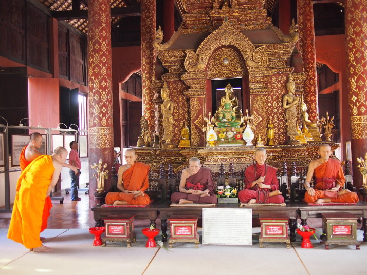 Buddhist monks, Chiang Mai