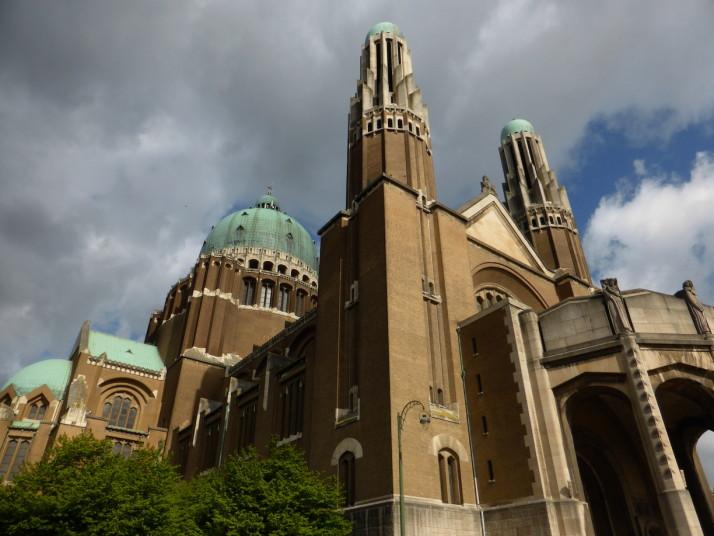 Basilique Nationale du Sacré-Cœur à Koekelberg, Brussels