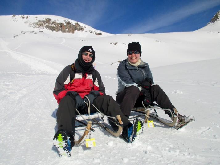 Sledging at Grindelwald
