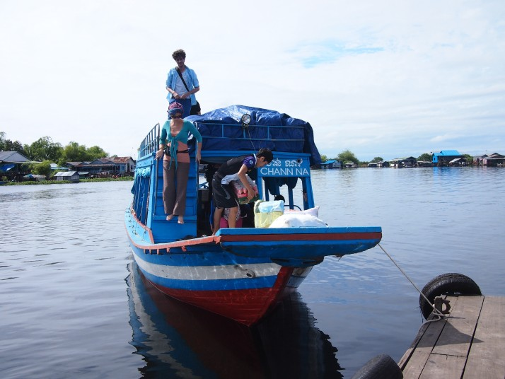 Boat from Battambang to Siem Reap