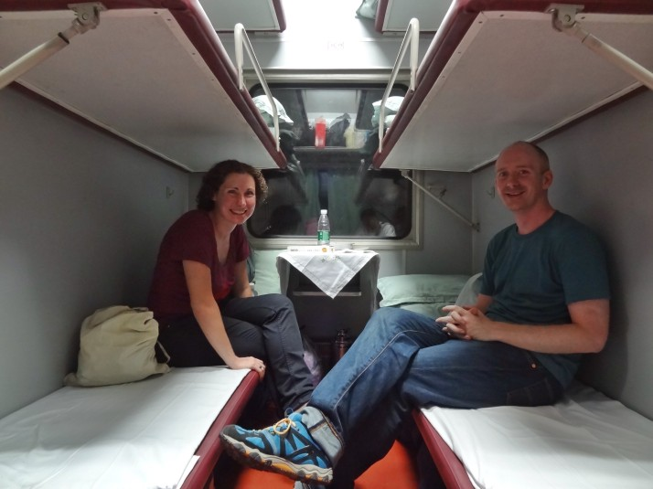 Chinese sleeper train