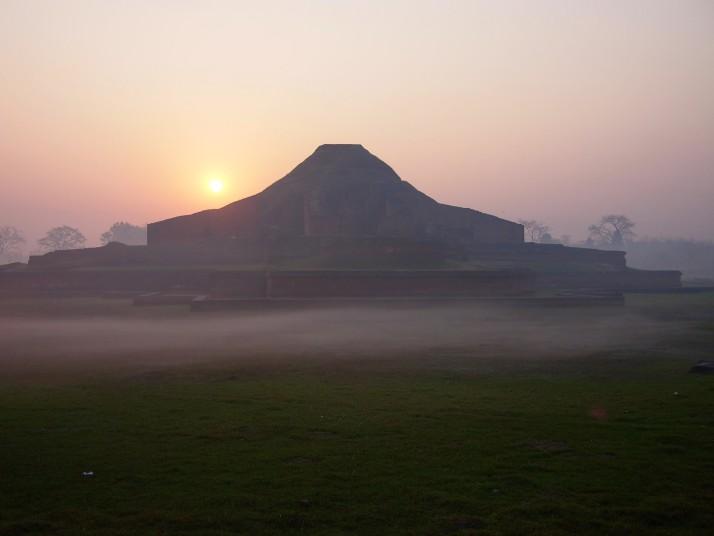 Sunrise at Paharpur