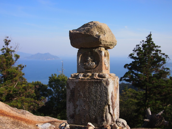Mountaintop monument, Miyajima