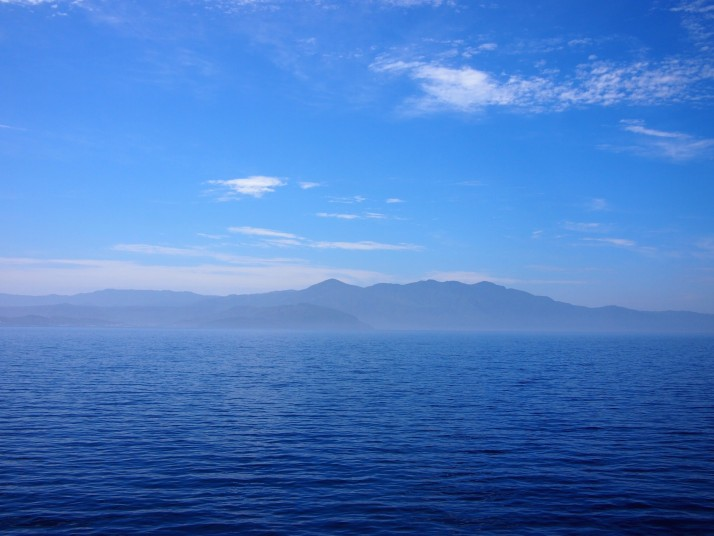 From the ferry to Yakushima