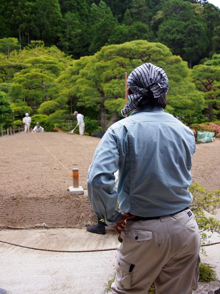 Recreating the zen garden