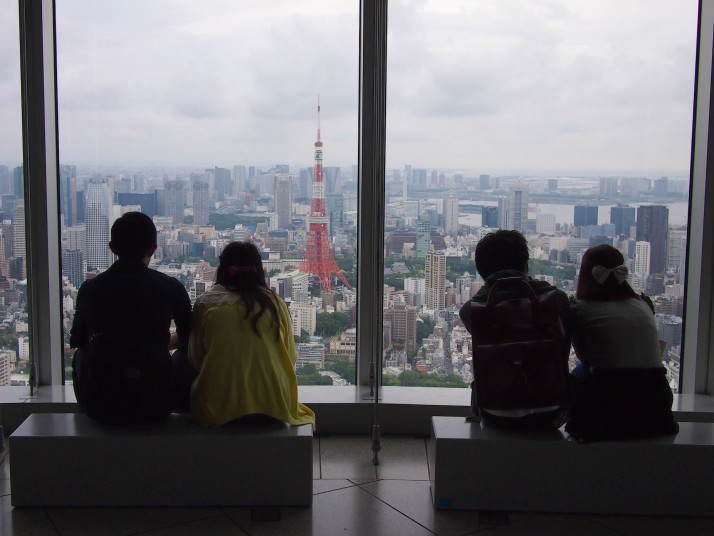 Observation deck at Mori Art Museum