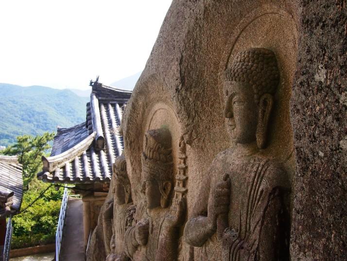 Seokbulsa temple carvings