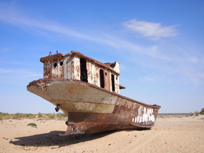 Moynaq boat cemetery
