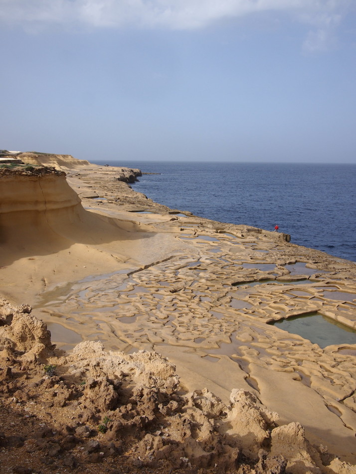 Salt pans on Gozo