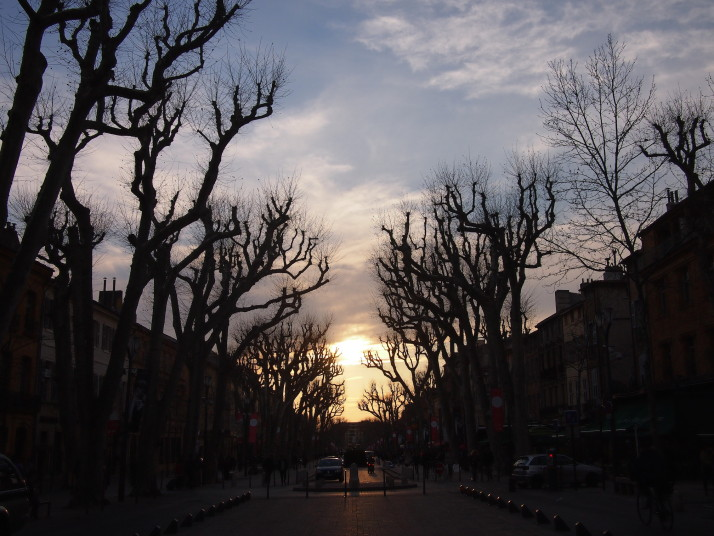 Sunset, Aix-en-Provence