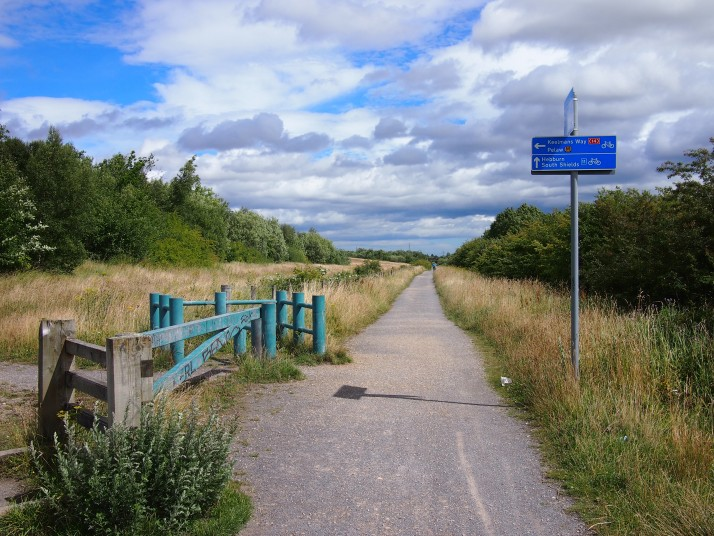 Gateshead cycle path
