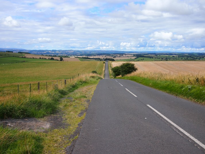 Downhill from Ryal, Northumberland