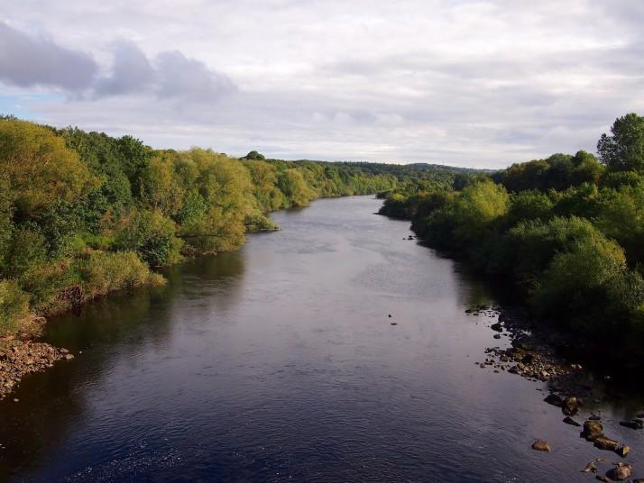River Tyne from Ovingham Bridge